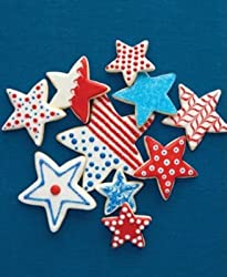 Martha Stewart Collection Star Cookie Cutters, Set of 4