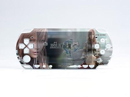 FINAL FANTASY XIII PSP (Slim) Dual Colored Skin Sticker, PSP 2000