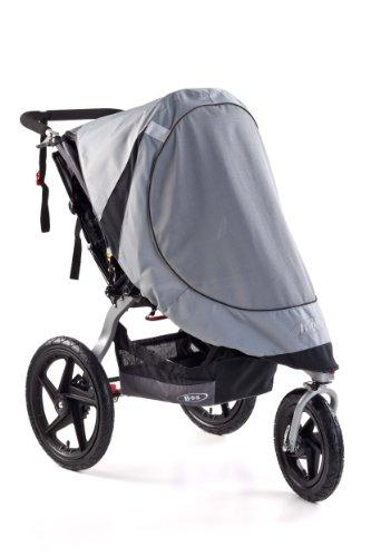 BOB Sun Shield for Single Revolution/Stroller Strides Models, Gray