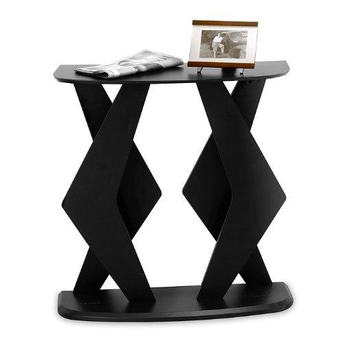 Cheap Boomerang Console Table in Black (B001LO6Q9I)