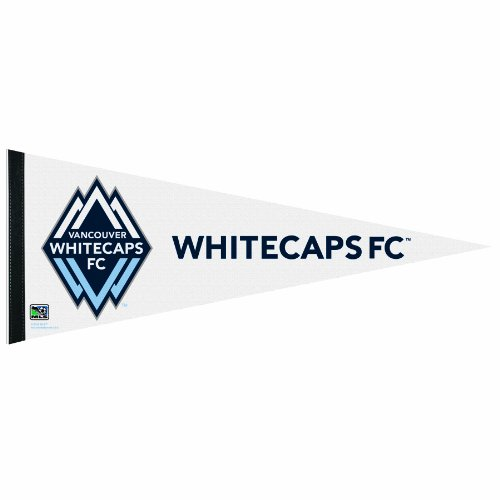 MLS Vancouver Whitecaps FC 12-by-30 Inch Premium Quality Pennant