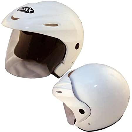 Casque MOTO jet TORX WOODY Blanc Taille L