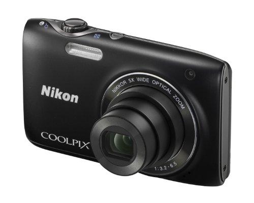 Nikon Coolpix S3100 Digital Camera - Black (14MP,
