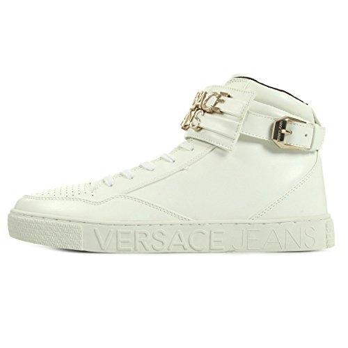 Versace Jeans Linea Sneaker Lettering Coating White E0YOBSE3003, Scarpe sportive - 41 EU
