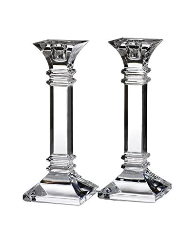 Marquis by Waterford Set of 2 Treviso 8″ Candleholders