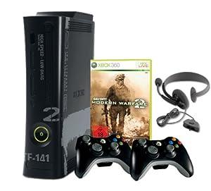Xbox 360 - Konsole Super Elite 250 GB inkl. 2 Wireless Controller inkl. Call of Duty: Modern Warfare 2