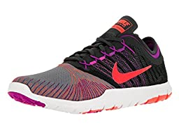 Nike Women\'s Flex Adapt Tr Cool Gry/Ttl Crimson/Anthracite/Hypr Training Shoe 9 Women US