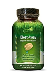 Irwin Naturals Bloat, Away, 60 Count