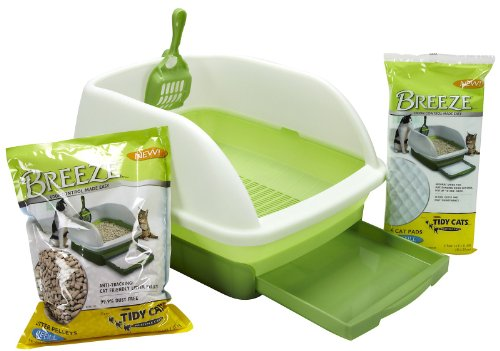 Tidy Cats Cat Litter, Breeze, Litter Box Kit System, 1 Kit (Multi Advantage For Cats compare prices)