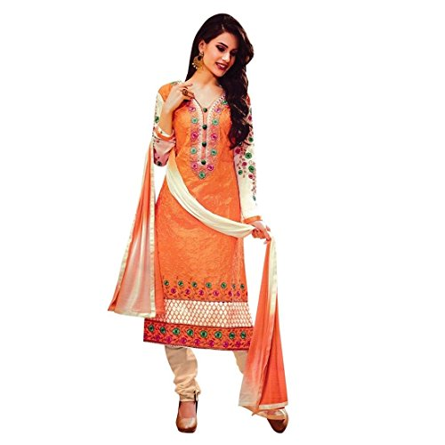 Ready-Made-Rich-Cotton-Lace-work-Embroidered-Salwar-Kameez-Suit-Indian