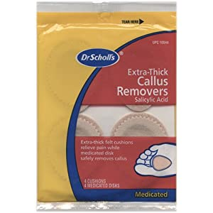 Dr. Scholl's Callus Removers Extra Thick Pads-4 ct.
