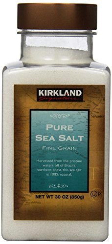 Kirkland Signature Pure Sea Salt, 30 Ounce