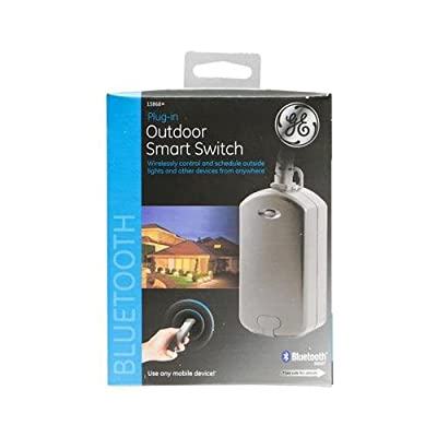 Jasco Products 13868 Plug-In Outdoor Smart Switch, Bluetooth from Jasco Products