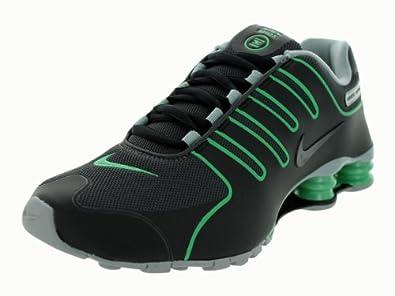 Nike Shox NZ NS Mens Running Shoes 543221-002 Black 7.5 M US