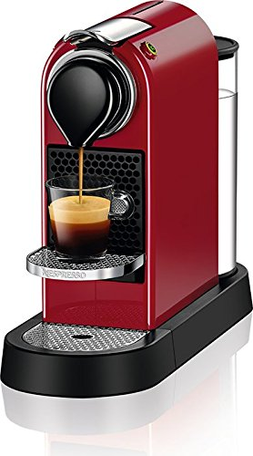 Nespresso C112-US-CR-NE Citiz Espresso Machine, Red