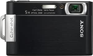 Sony Cybershot DSC-T200 8.1MP Digital Camera with 5x Optical Zoom with Super Steady Shot Image Stabilization (Black) (OLD MODEL)