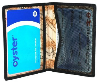 1642 Soft Nappa Leather - Travel Pass / Oyster Card Holder (5307 17)