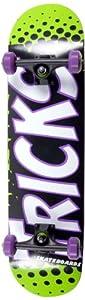 Tricks Lime Skateboard complet Vert Taille 19,8 cm