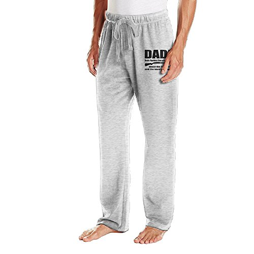 RODNEY Men's Open Bottom Dads Against Daughters Dating Jogging Pants 3X Ash (Princeton Bumper Sticker compare prices)