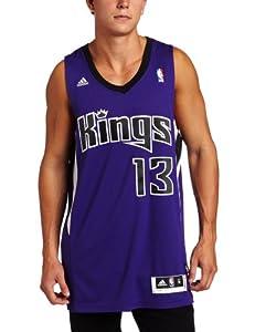 NBA Sacramento Kings Tyreke Evans Road Swingman Jersey Purple by adidas