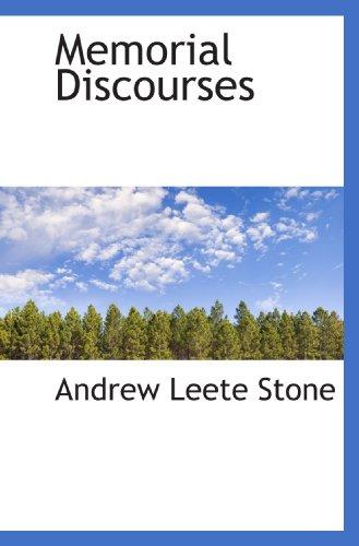 Memorial Discourses