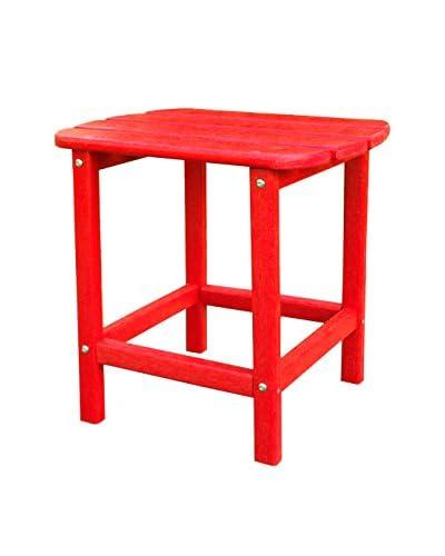 Panama Jack Adirondack End Table, Red