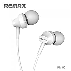 "Advent Basicsâ""¢ Original Remax 501 Stereo Super Bass MP3 Music Sound Subwoofer In-Ear Wired Control Headset Compatible With Iphone/Ipad/Ipod. (White)"