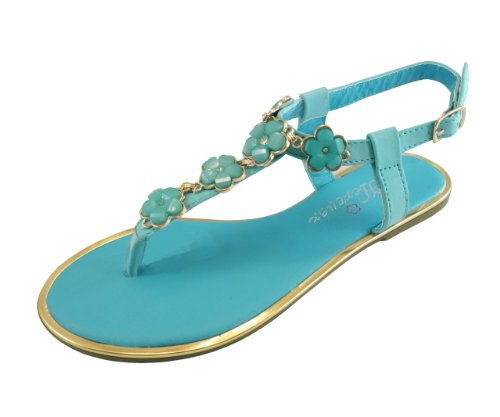 Womens Turquoise Sandals