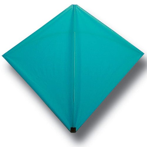 Into The Wind Aqua Classic Hata Diamond Kite Made in the USA