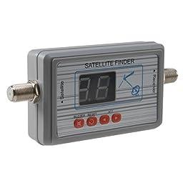 AGPtek® Digital Satellite Signal Finder Meter for Dish Network Directv FTA