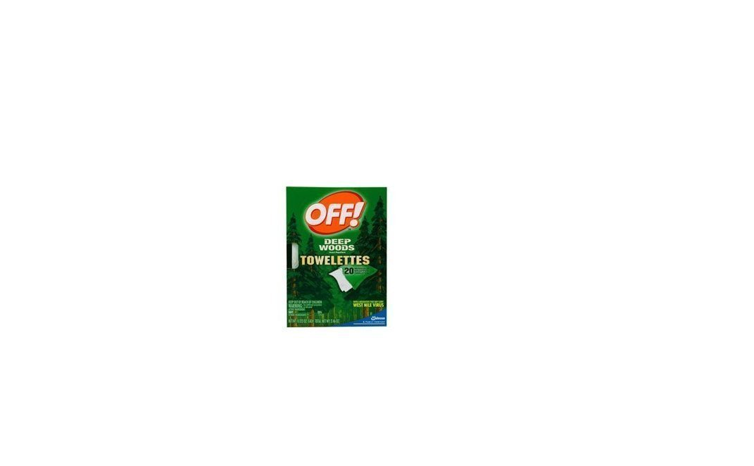 Off! Deep Woods Insect Repellent Wipes