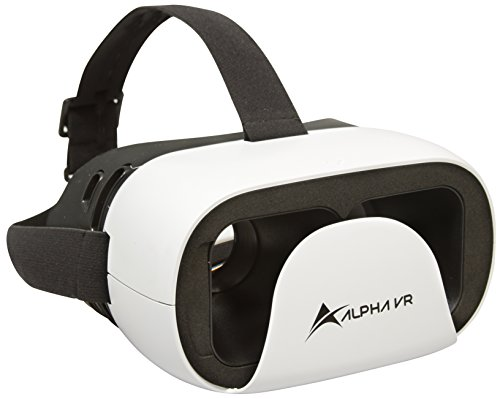 Alpha VR Virtual Reality Headset, White
