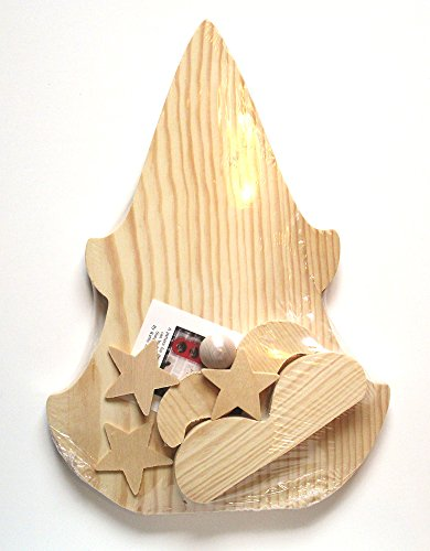 St. Nick Wood Model Kit - Christmas Craft