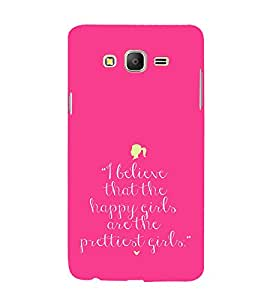EPICCASE Happy girls Mobile Back Case Cover For Samsung Galaxy E7 (Designer Case)