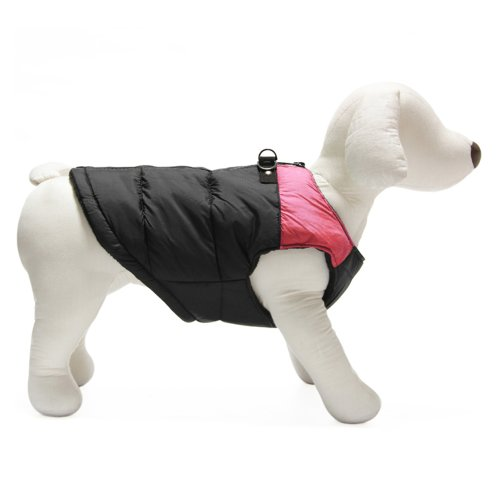 Gooby Padded Vest For Dogs, X-Small, Pink