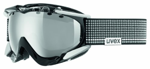 UVEX Skibrille Apache Pro, black/white, One size, S55.0.080.0026
