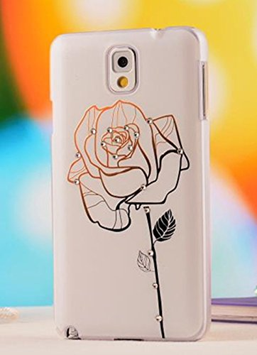 Nancy'S Shop Colorful Painting 3D Hard Cell Phone Accessories Case And Covers For Unlocked Tmobile Samsung Galaxy Note 3 Iii (A Flower)