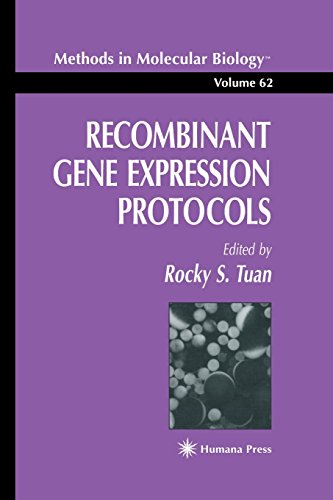 Recombinant Gene Expression Protocols (Methods in Molecular Biology)