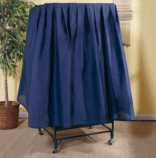 Image of Cage Cover Medium Color: Navy Wicker (B006900BZO)