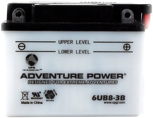 UPG 41530 6ub8-3b Conventional Power Sports Battery