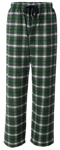 Green Cotton Pajamas back-991632