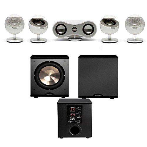 Jamo S-35-Hcs-Wht 5.1 Home Cinema System - Bic Acoustech Pl-200