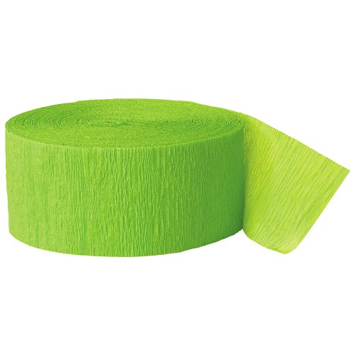 Lowest Price! Party Streamer, 81-Feet, Lime Green