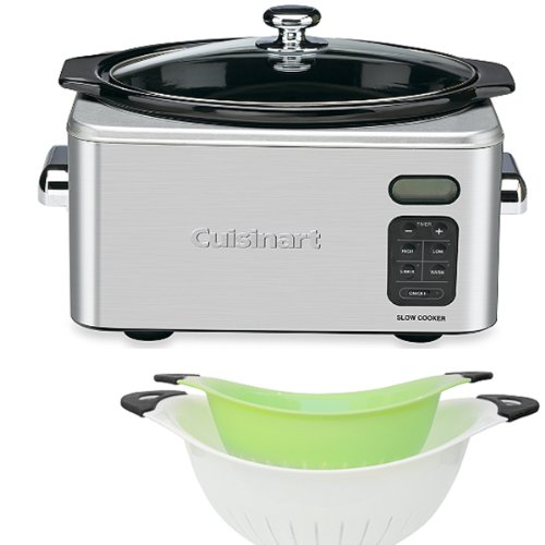 Set 2 of White and Green Colanders  Cuisinart®
