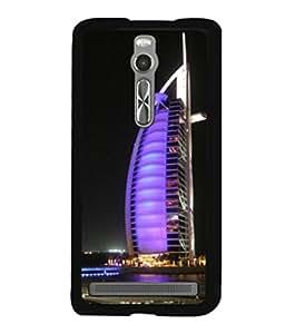printtech Burj Al Arab Dubai Building Back Case Cover for Asus Zenfone 2 , Asus Znfone 2 ZE550ML
