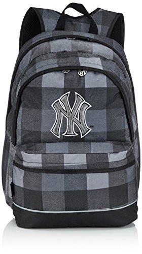 major-league-baseball-sac-a-dos-enfants-sac-a-dos-avec-2-compartiments-45-cm-gris