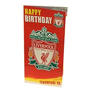 Liverpool FC Birthday Card - Football Gifts from Official Football Merchandise