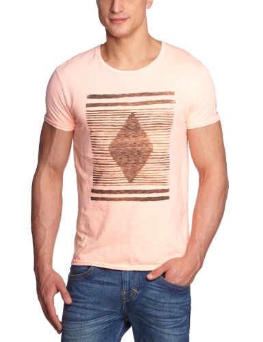 Scotch & Soda Hand Drawed Printed Men's T-Shirt Dessin B X-Large