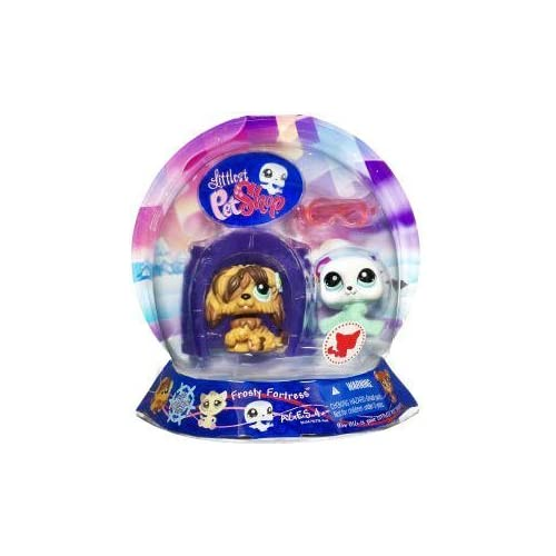 Littlest Pet Shop Chilliest Pet Pair Frosty Fortress (Dog and Seal) by Hasbro günstig als Geschenk kaufen