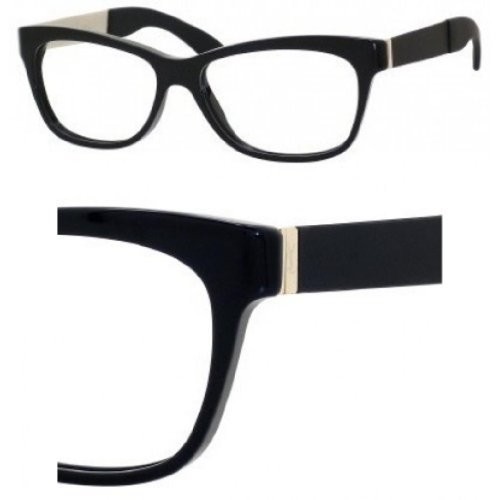 Yves Saint Laurent Yves Saint Laurent 6367 Eyeglasses-0ST4 Black-52mm